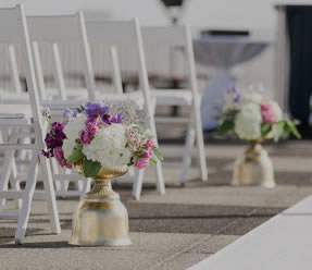 outdoor floral arrangements