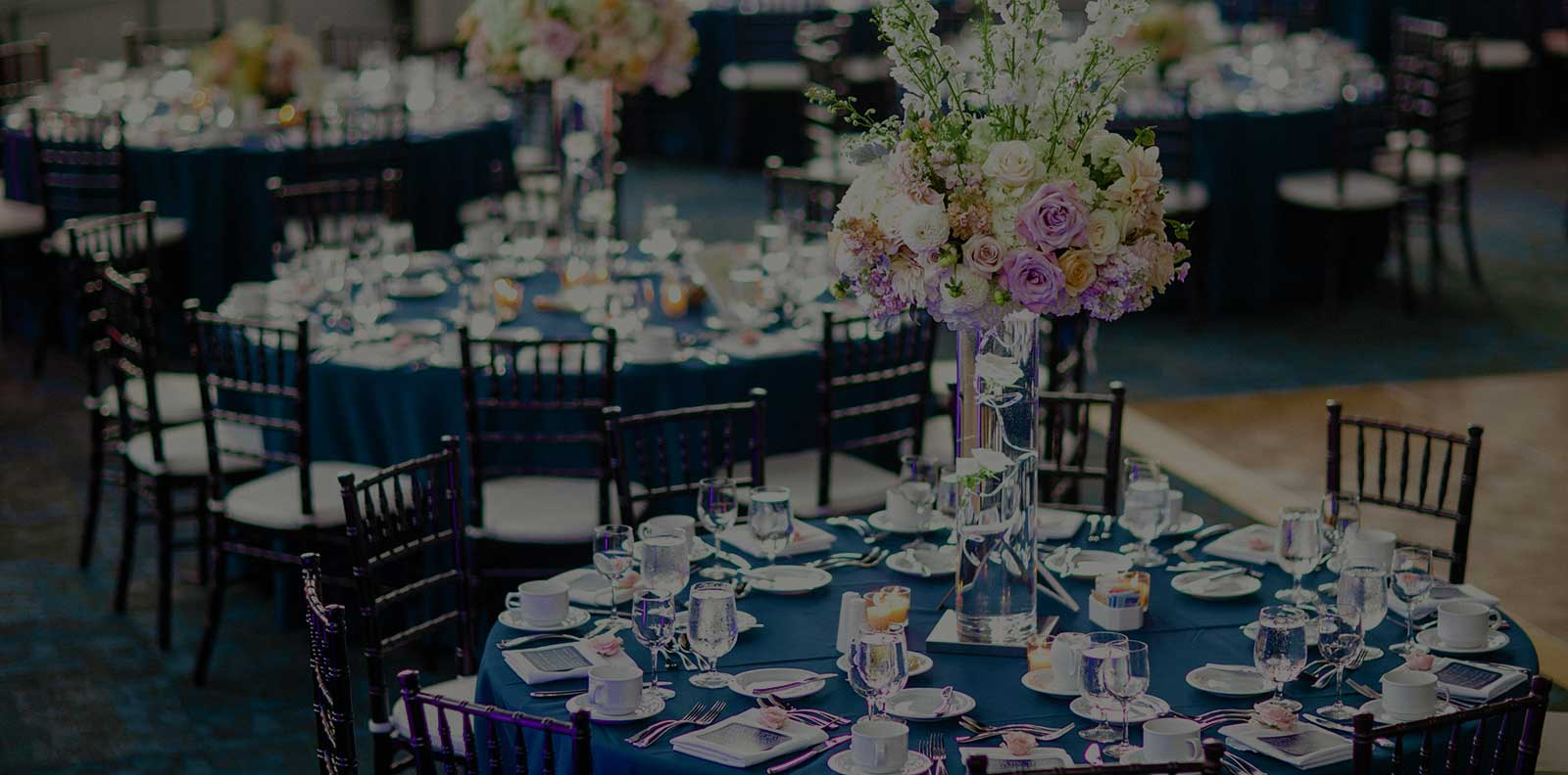 wedding banquet tables